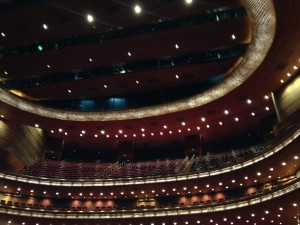 Inside the Beijing Performing Arts Center