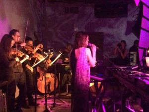 Playing with Francesca Lombardo at Verboten.