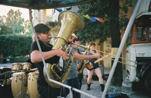 Tuba Joe, rockin on in The Lido