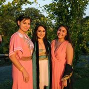 Myself, Reenat and Alex after our performance