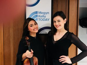 Me and my violin sister Alex Weil